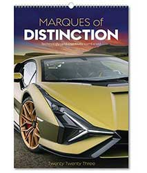 Marques of Distinction Rose Wall Calendar