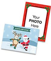 Humorous Corporate Frame Christmas Card